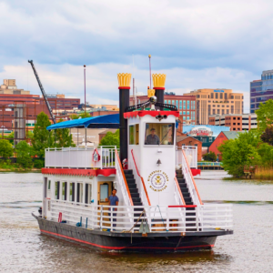 Riverboat Queen Cruises Begin THIS WEEKEND