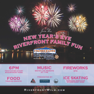 New Year's Eve Riverfront Family Fun