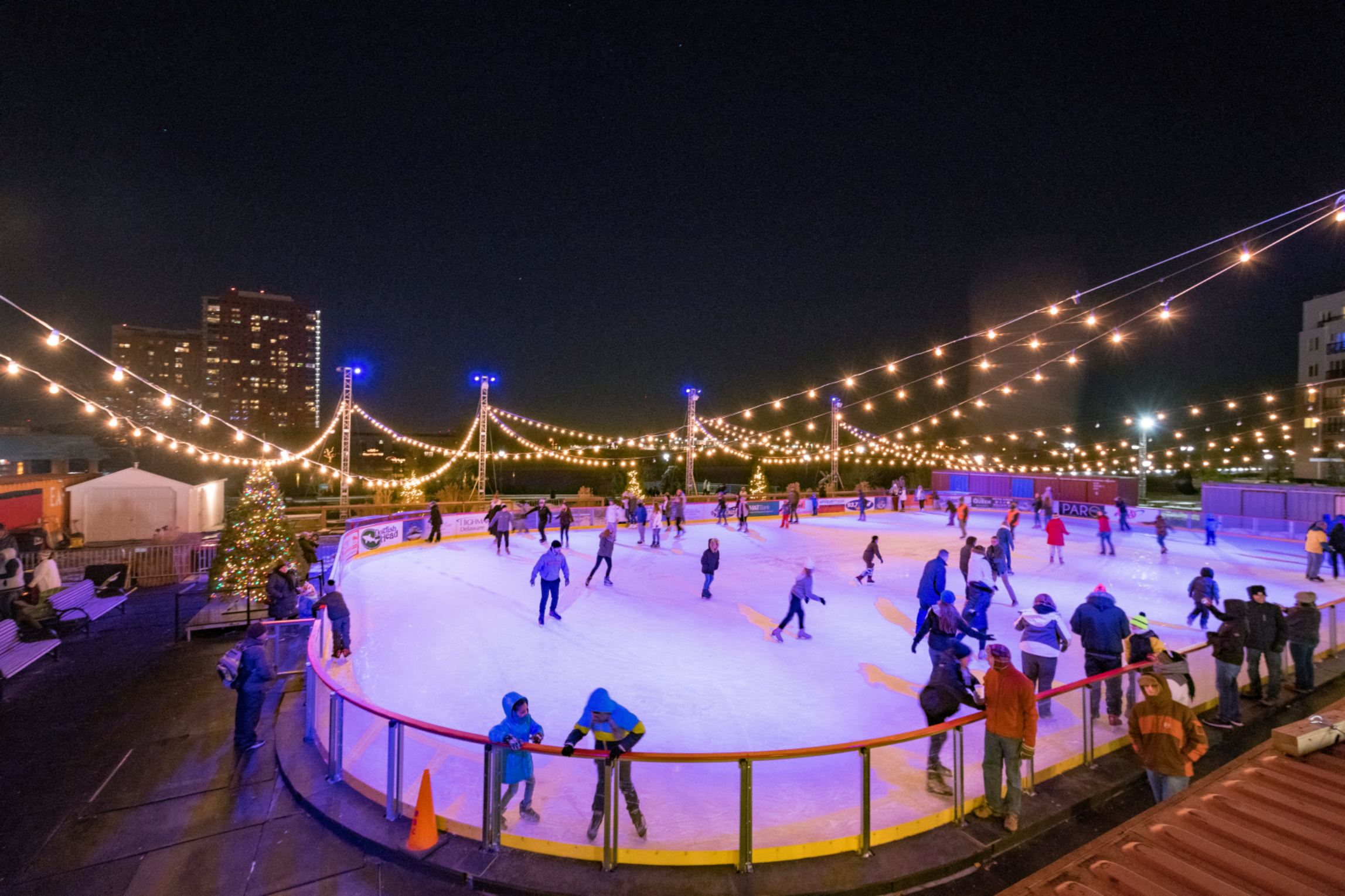 Horizon Service Riverfront Rink NOW OPEN through March 1st!