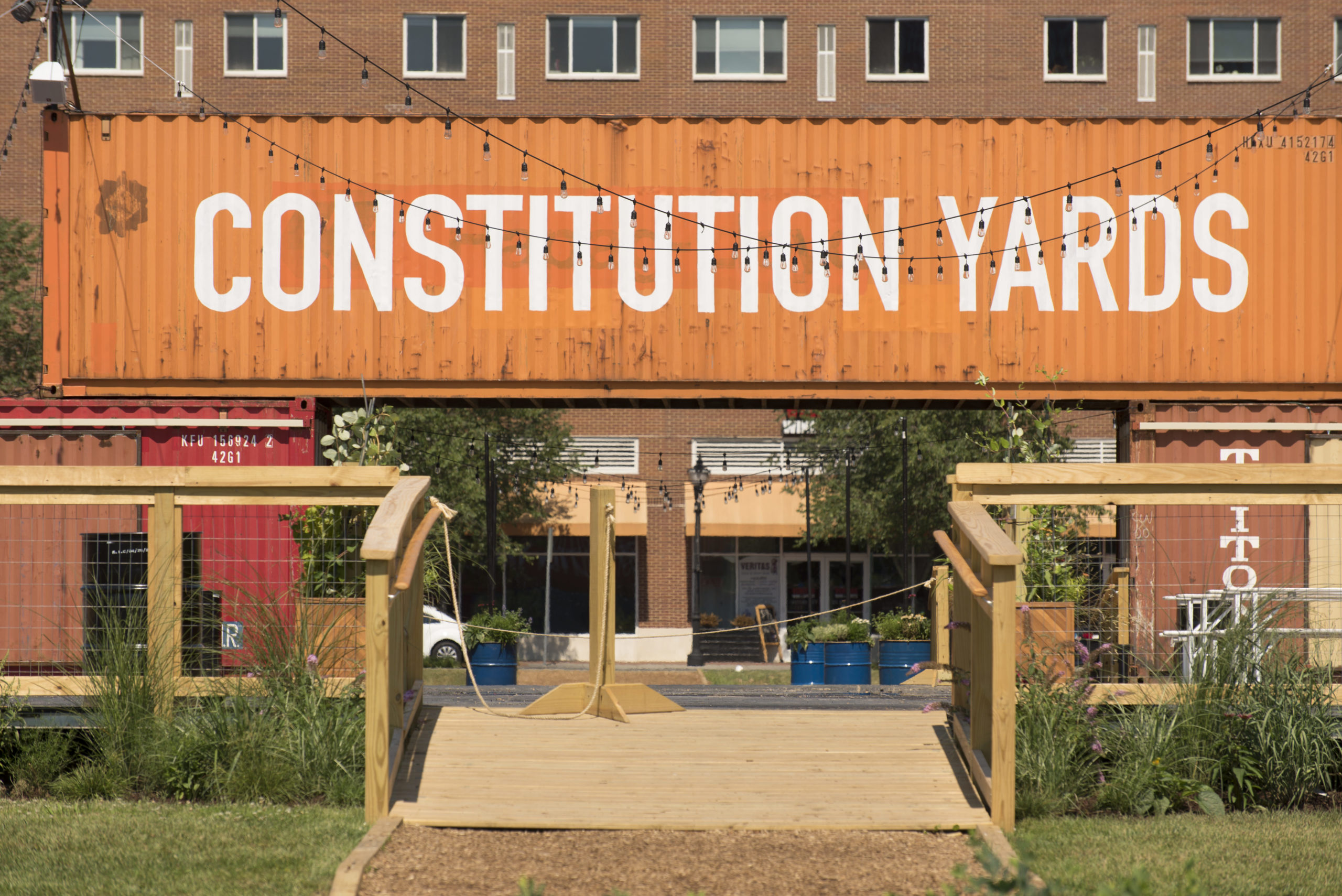 Constitution Yards Beer Garden- NOW OPEN!