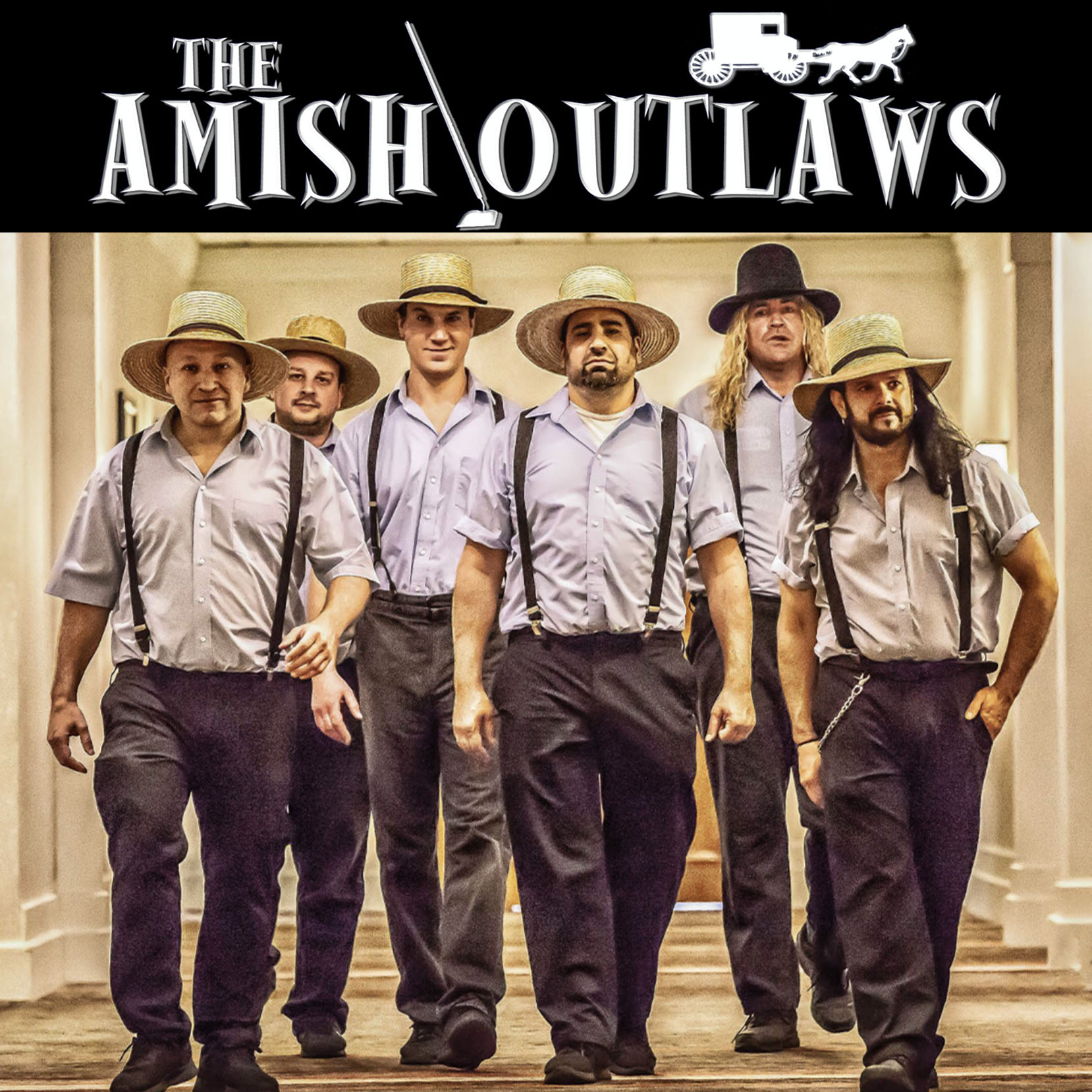 Live at the Riverfront! Drive-in concert featuring The Amish Outlaws and Best Kept Soul!
